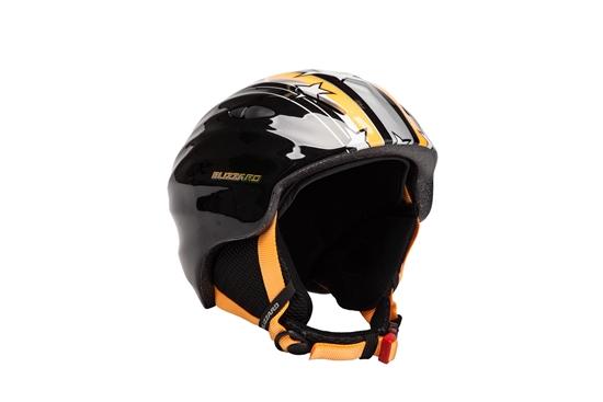 Obrázek z helma BLIZZARD Magnum ski helmet junior, orange star shiny