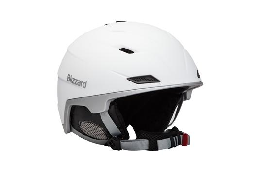 Obrázek z helma BLIZZARD Viva Double ski helmet, white matt/silver