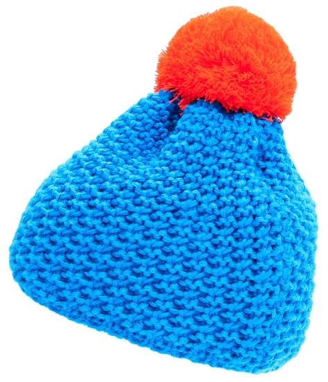 Obrázek z čepice BLIZZARD Mixer, blue/orange