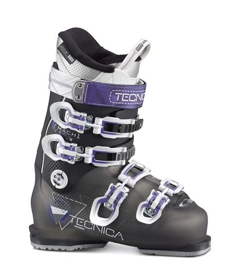 Obrázek z lyžařské boty TECNICA Mach1 W MV RT, tr. black/black, rental, AKCE