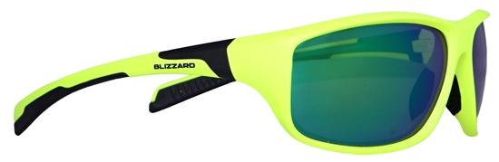 Obrázek z sluneční brýle BLIZZARD sun glasses POL202-554 neon yellow matt, 70-17-125, AKCE