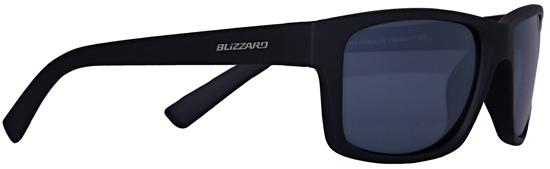 Obrázek z sluneční brýle BLIZZARD sun glasses POL602-111 rubber black, 67-17-135, AKCE