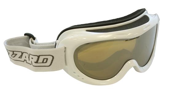 Obrázek z lyžařské brýle BLIZZARD Ski Gog. 907 MDAZPO, white met., honey2, silver mir., polar, AKCE