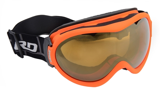 Obrázek z lyžařské brýle BLIZZARD Ski Gog. 919 MDAVZS, neon orange matt, amber2, gold mirror, AKCE