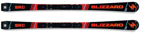 Obrázek z sjezdové lyže BLIZZARD SRC Racing Masters + WC plate, R 12 m, 17/18