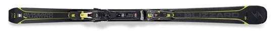 Obrázek z set sjezdové lyže BLIZZARD Quattro 8.4 Ti, 17/18 + vázání XCELL 12 DEMO, blk./ant./lime, 17/18