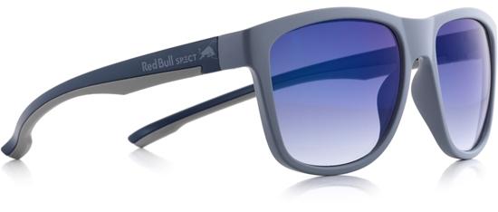 Obrázek z sluneční brýle RED BULL SPECT RB SPECT Sun glasses, BUBBLE-002, matt dark grey/smoke with blue REVO, 55-17-145