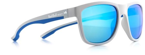 Obrázek z sluneční brýle RED BULL SPECT Sun glasses, BUBBLE-006, matt grey/green with green REVO, 55-17-145, AKCE