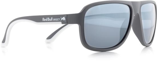 Obrázek z sluneční brýle RED BULL SPECT RB SPECT Sun glasses, LOOP-006, matt dark grey/smoke with silver Flash, 59-15-145