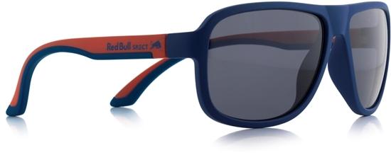 Obrázek z sluneční brýle RED BULL SPECT RB SPECT Sun glasses, LOOP-007, matt dark blue/matt red temple/smoke, 59-15-145