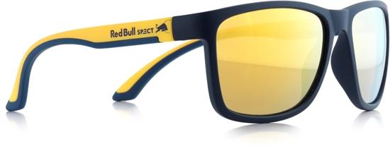 Obrázek z sluneční brýle RED BULL SPECT Sun glasses, TWIST-005, blue/yellow, blue, brown with gold revo, 57-17-145, AKCE