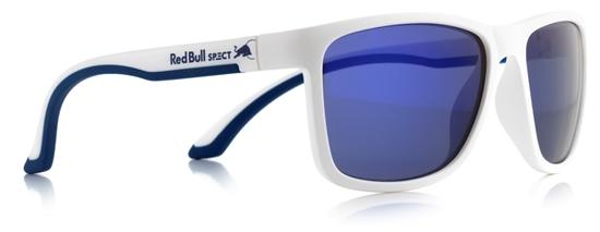Obrázek z sluneční brýle RED BULL SPECT RB SPECT Sun glasses, TWIST-008, matt white/smoke with velvet REVO, 56-17-140, AKCE