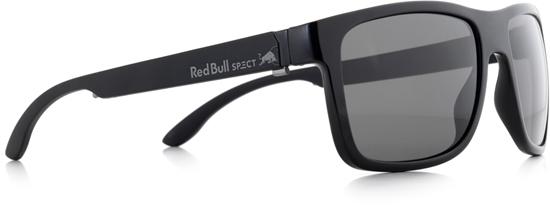 Obrázek z sluneční brýle RED BULL SPECT RB SPECT Sun glasses, WING1-001, shiny black/matt black temple/smoke POL, 56-17-145, AKCE
