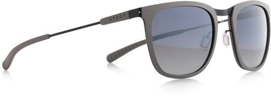 Obrázek z sluneční brýle SPECT SPECT Sun glasses, SCORE-003P, matt warm grey/smoke gr. wth silver flash POL, 52-21-140
