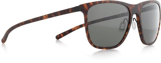 Obrázek z sluneční brýle SPECT Sun glasses, SOLID-002P, brown pattern, green POL, 54-16,6-140
