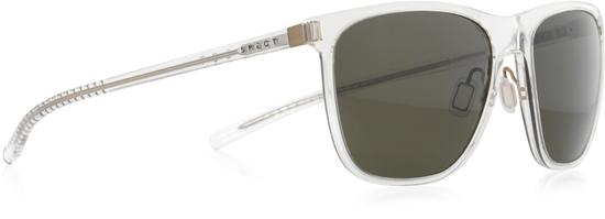 Obrázek z sluneční brýle SPECT SPECT Sun glasses, SOLID-004P, matt military green/smoke with silver flash POL, 54-16,6-140