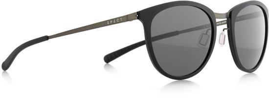 Obrázek z sluneční brýle SPECT STANCE-001P, black/smoke POL, 50-21-140