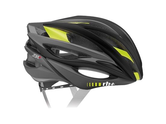 Obrázek z helma RH+ ZW, matt black/matt yellow fluo, AKCE