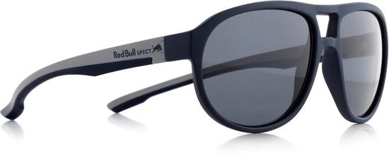 Obrázek z sluneční brýle RED BULL SPECT Sun glasses, BAIL-003P, dark blue, smoke POL, 59-16-145, AKCE