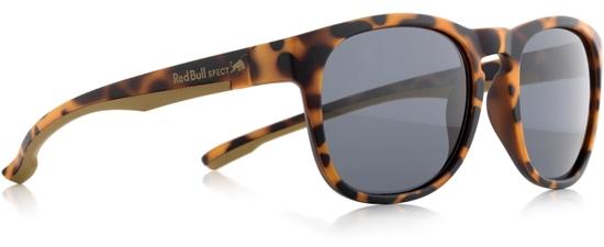 Obrázek z sluneční brýle RED BULL SPECT Sun glasses, OLLIE-002P, brown pattern, smoke POL, 53-20-145, AKCE