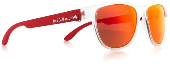 Obrázek z sluneční brýle RED BULL SPECT Sun glasses, WING3-004P, transparent clear, smoke with red mirror POL, 53-16-145, AKCE