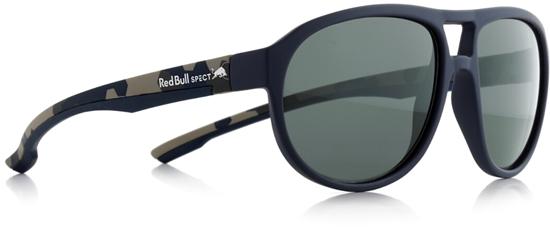 Obrázek z sluneční brýle RED BULL SPECT Sun glasses, BAIL-001P, dark blue, smoke POL, 59-16-145, AKCE