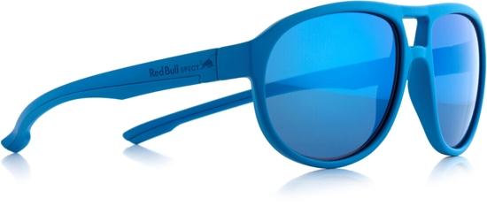 Obrázek z sluneční brýle RED BULL SPECT RB SPECT Sun glasses, BAIL-006P, matt light blue/smoke with blue revo POL, 59-16-140