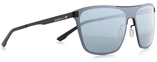 Obrázek z sluneční brýle RED BULL SPECT Sun glasses, GRAVITY1-002, black, black, smoke with silver mirror, 144-135, AKCE
