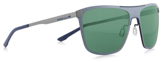 Obrázek z sluneční brýle RED BULL SPECT Sun glasses, GRAVITY1-005, black/blue, dark blue, smoke with green mirror, 144-135, AKCE