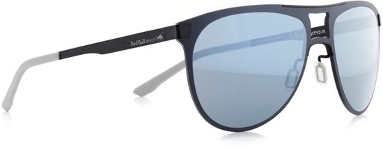 Obrázek z sluneční brýle RED BULL SPECT RB SPECT Sun glasses, GRAVITY2-005, matt dark blue/smoke with lilac mirror, 57-17-145, AKCE
