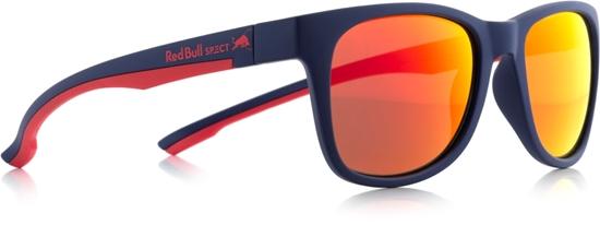 Obrázek z sluneční brýle RED BULL SPECT RB SPECT Sun glasses, INDY-009P, matt dark blue/smoke with red REVO POL, 51-20-145
