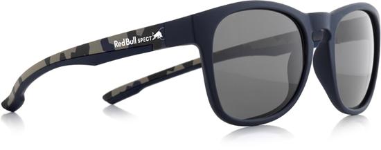 Obrázek z sluneční brýle RED BULL SPECT Sun glasses, OLLIE-001P, matt dark blue/grey, 53-20-140, AKCE
