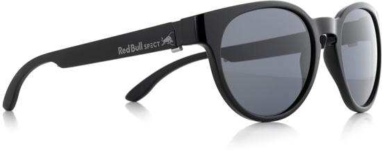 Obrázek z sluneční brýle RED BULL SPECT Sun glasses, WING4-001P, black, smoke POL, 52-20-145