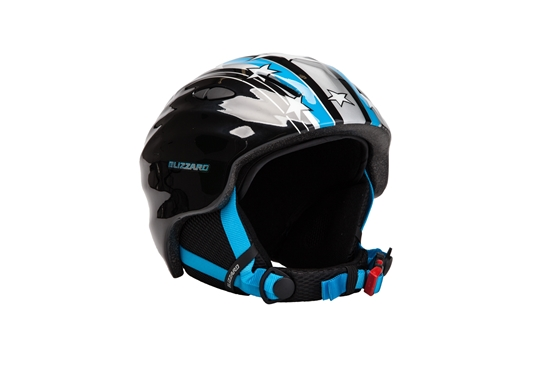 Obrázek z helma BLIZZARD Magnum ski helmet junior, blue star shiny