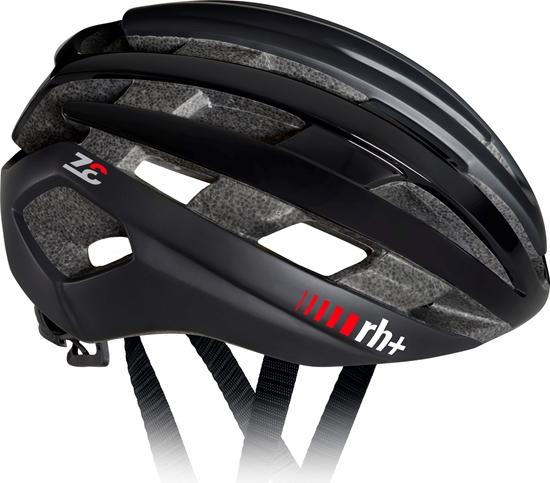 Obrázek z helma RH+ Z Epsilon, matt black/shiny black/matt black, AKCE