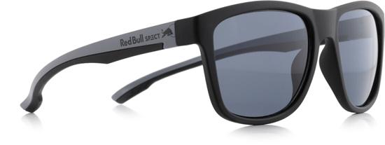 Obrázek z sluneční brýle RED BULL SPECT RB SPECT Sun glasses, BUBBLE-001P, matt black/smoke POL, 55-17-145