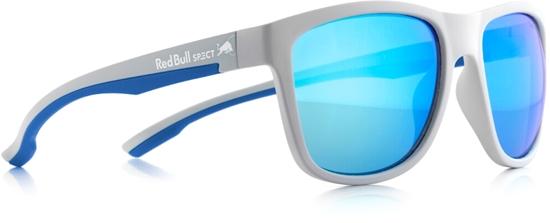 Obrázek z sluneční brýle RED BULL SPECT RB SPECT Sun glasses, BUBBLE-006P, matt grey/green with green REVO POL, 55-17-145