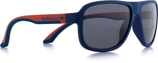 Obrázek z sluneční brýle RED BULL SPECT RB SPECT Sun glasses, LOOP-007P, matt dark blue/matt red temple/smoke POL, 59-15-145