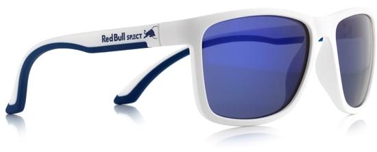 Obrázek z sluneční brýle RED BULL SPECT Sun glasses, TWIST-008P, white, blue, smoke with purple mirror POL, 57-17-145, AKCE