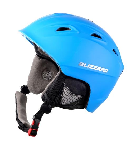 Obrázek z helma BLIZZARD Demon ski helmet, neon blue matt