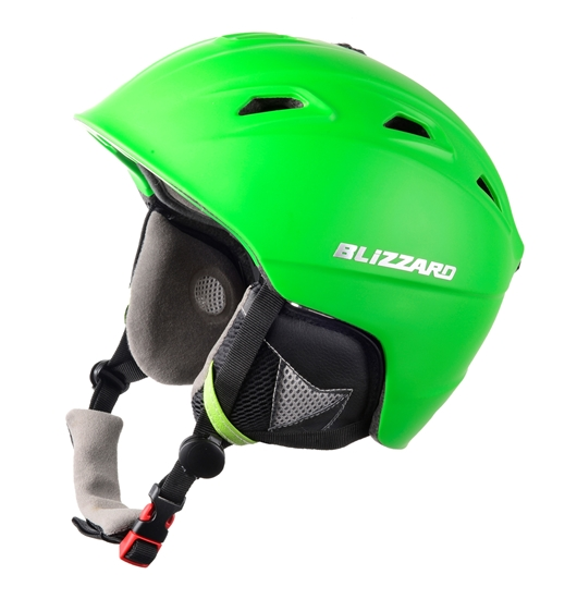 Obrázek z helma BLIZZARD Demon ski helmet, neon green matt