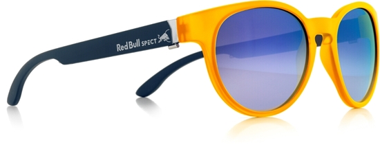 Obrázek z sluneční brýle RED BULL SPECT RB SPECT Sun glasses, WING4-003, yellow/smoke with blue mirror, 52-20-140, AKCE