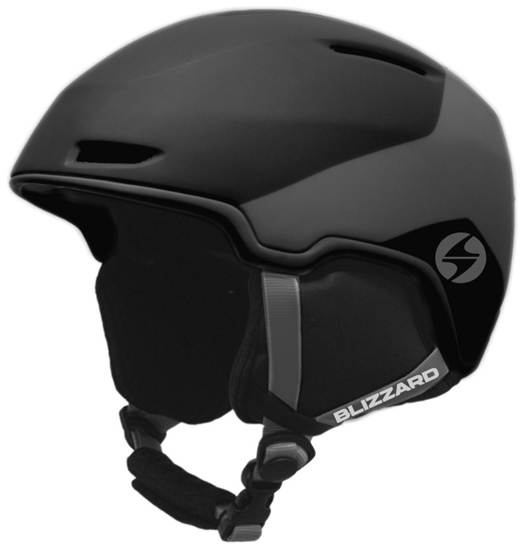 Obrázek z helma BLIZZARD Viper ski helmet, black matt/grey matt