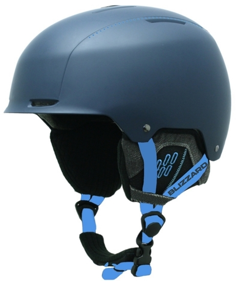 Obrázek z helma BLIZZARD Guide ski helmet, deep blue matt/bright blue matt