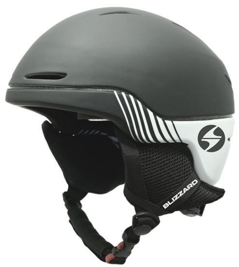 Obrázek z helma BLIZZARD Speed ski helmet, black matt/white matt