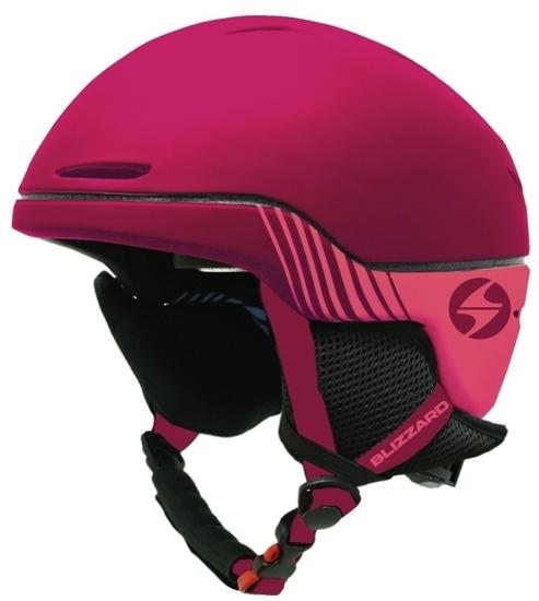 Obrázek z helma BLIZZARD Viva Speed ski helmet, bordeaux matt/grey matt