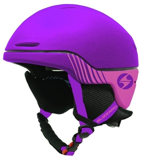 Obrázek z helma BLIZZARD Speed ski helmet junior, violet matt/pink matt