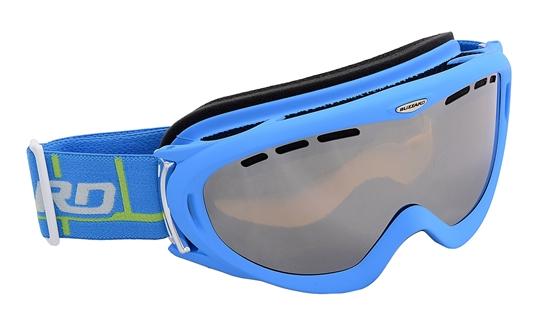 Obrázek z lyžařské brýle BLIZZARD Ski Gog. 905 MDAVZFO, neon blue matt, amber2-3, silv.mir., photo, AKCE