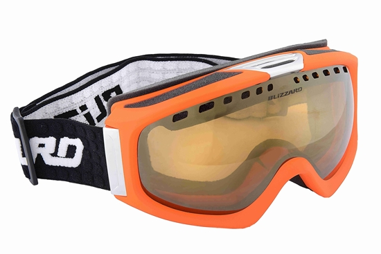 Obrázek z lyžařské brýle BLIZZARD Ski Gog. 933 MDAVZS, neon orange matt, amber2, blue mirror, AKCE