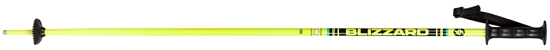 Obrázek z lyžařské hůlky BLIZZARD Race junior ski poles, yellow/black